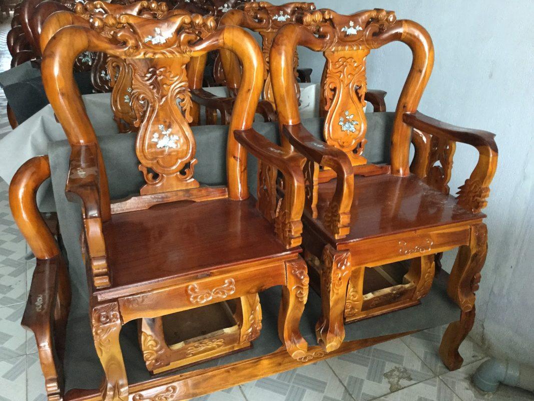 Một số sản phẩm được làm từ gỗ Tràm
