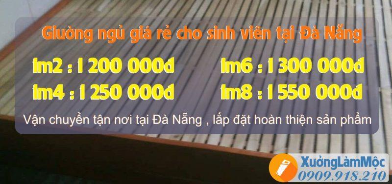 giường ngủ giá rẻ cho sinh viên tại Đà Nẵng