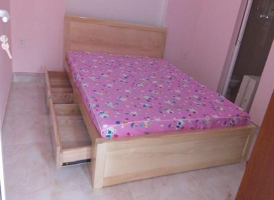 giường ngủ tại nhà khách