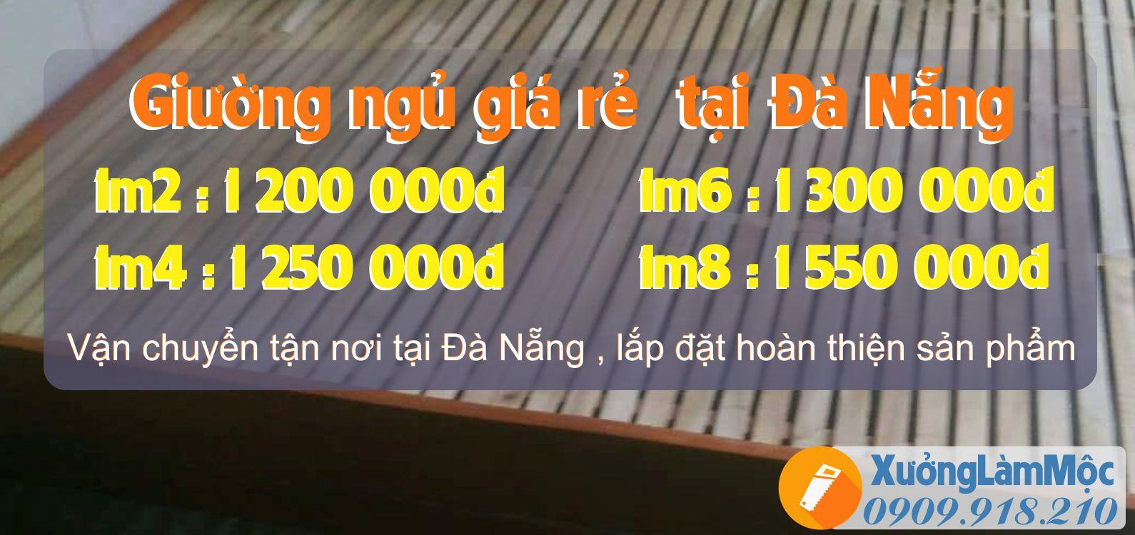 Bảng giá giường ngủ cho công nhân tại Đà Nẵng