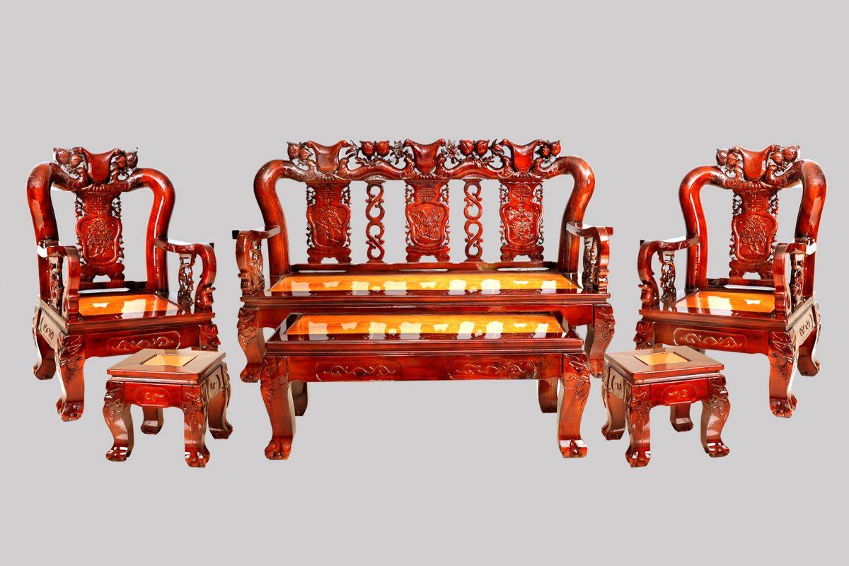 Bộ salon từ gỗ Tràm