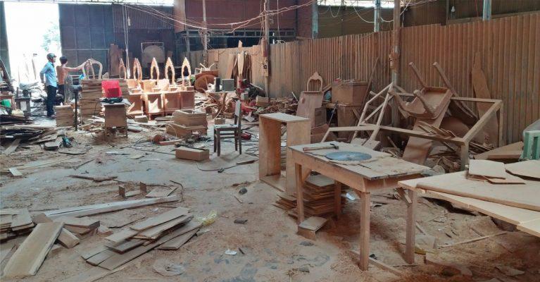 Xưởng mộc tại Đà Nẵng