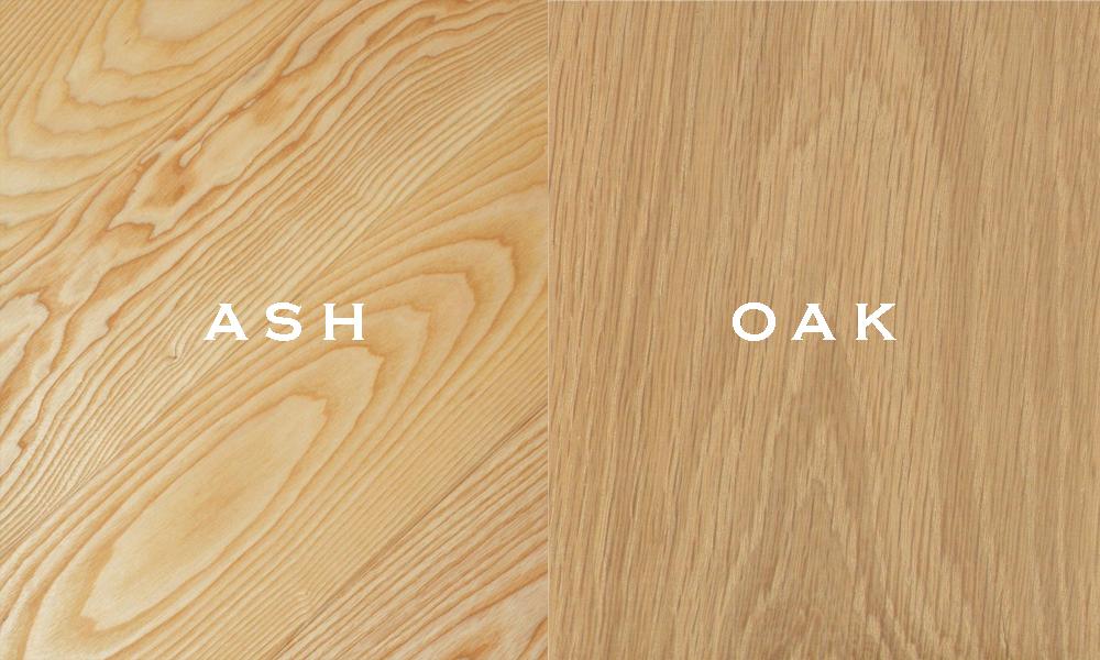 Phân biệt gỗ sồi (OAK) và gỗ tần bì(ASH)