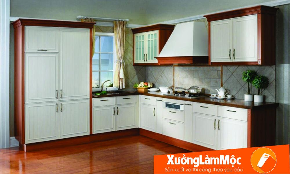 Tủ bếp nhà chưng cư Đà Nẵng