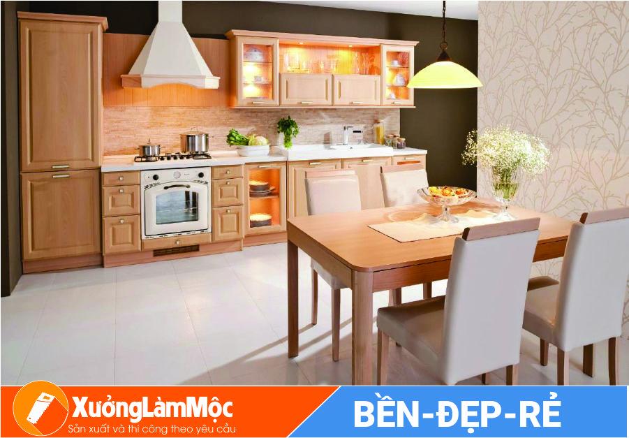 Mẫu tủ bếp đẹp Đà Nẵng