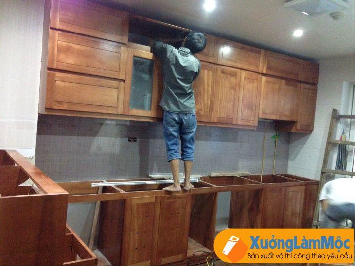 thi công tủ bếp tại đà nẵng