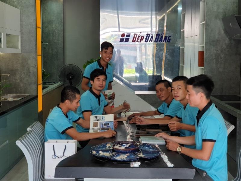 Đội ngũ thợ thi công Bếp Đà Nẵng
